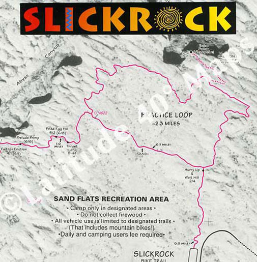 Slickrock Trail practice loop