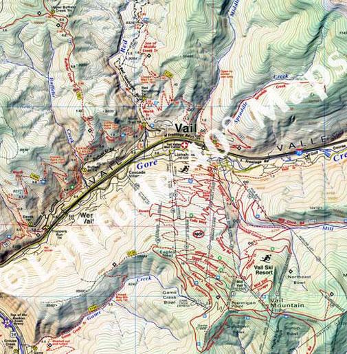 Vail & Eagle area trails