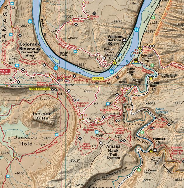 Amasa Back trails Moab