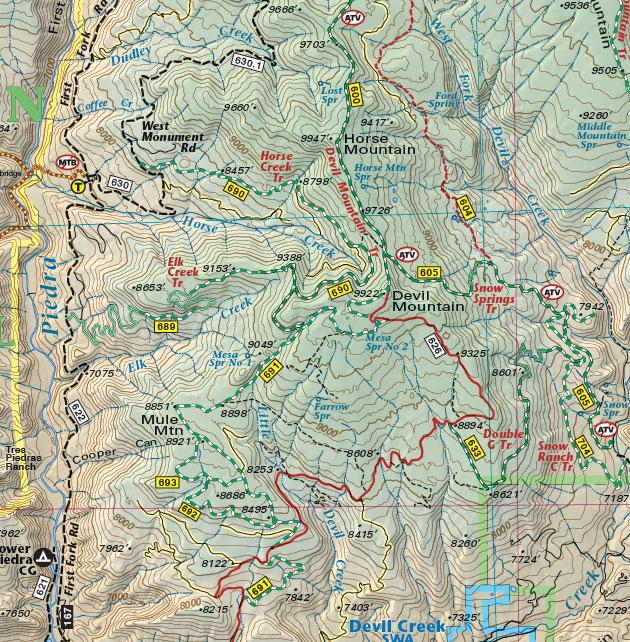 Devil Mountain Southwest Colorado