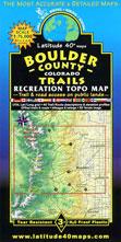 Boulder County Colorado trail map