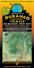Durango Colorado trail map