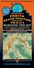 Fruita Grand Junction mountain bike jeep dirt trail map