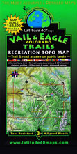 Vail & Eagle Colorado trail map