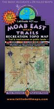 Moab recreation map