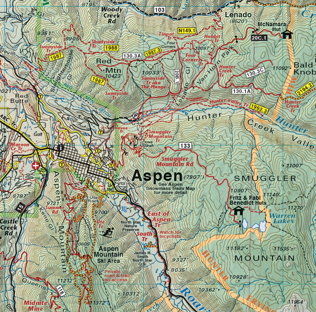 aspen trail jeep 4wd recreation map