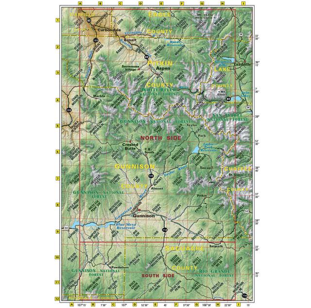 crested butte aspen gunnison trail map