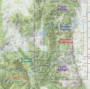 Colorado front range trail maps