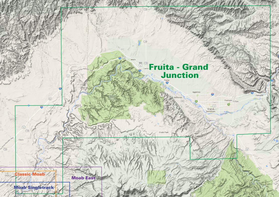 usgs topo map locator with Fruita Grand Junction Trails on Physical World Map 2 likewise Summit County Trails additionally Digital Topographic Map Of Devils Lake State Park Baraboo Wisconsin in addition San Antonio Texas Street Map 4865000 moreover How To Read Utm Coordinates On A Topographic Map.