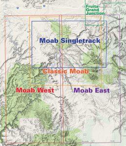 moab utah trail jeep maps