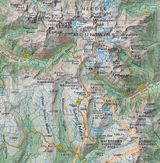 Needle Mountains Colorado