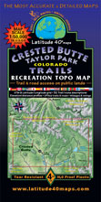 Crested Butte Taylor Park trail map