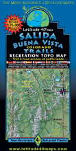 Salida Buena Vista recreation trail topo map