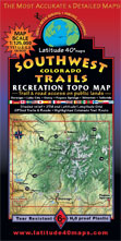 southwest colorado topographic trail map