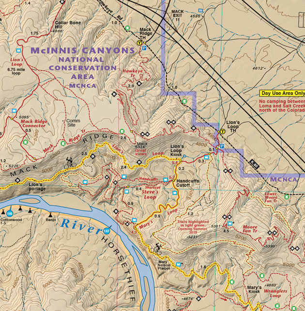Fruita Grand Junction trail map