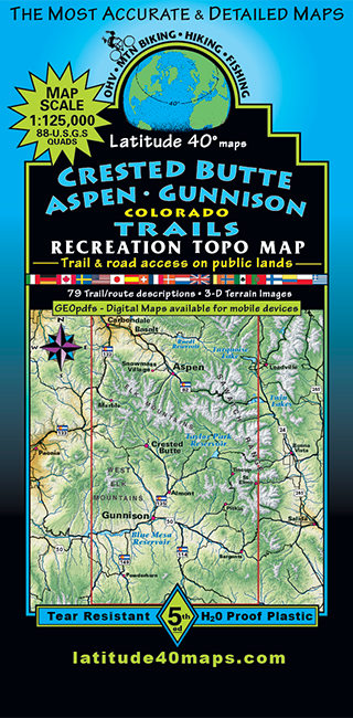 Crested Butte - Aspen - Gunnison Trails